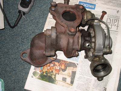 KKK K14 assembled turbo