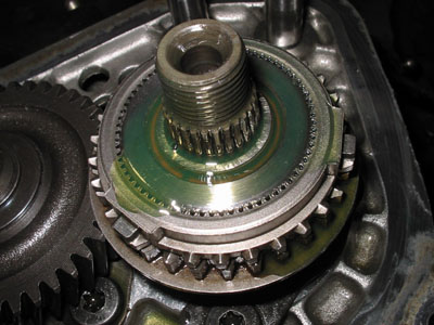 MA5 gearbox synchromesh